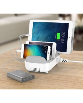 Chariots de rechargement Dock de chargement 10 Ports USB