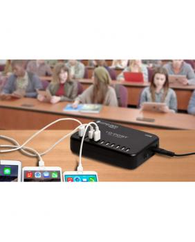 Chariots de rechargement Dock de chargement USB 10 unités