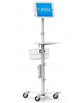 Bornes Kiosque roulant pour Galaxy Tab