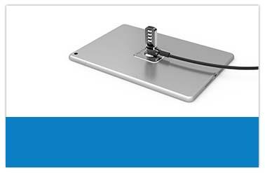 ipad, tablet, macbook und laptop sicherheitsschloss